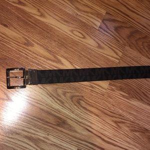 Michael Kors MK Logo Belt